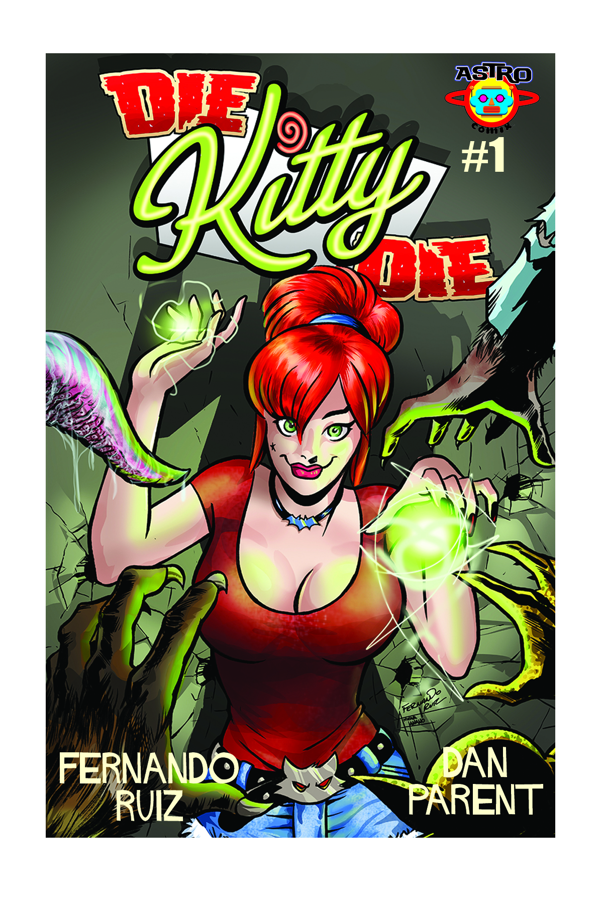 kitty #1 fern cover cover