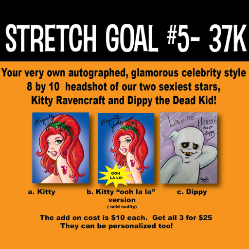 """Next stretch goal announced & we're almost at the 35k """"Gisele"""" story goal!"""