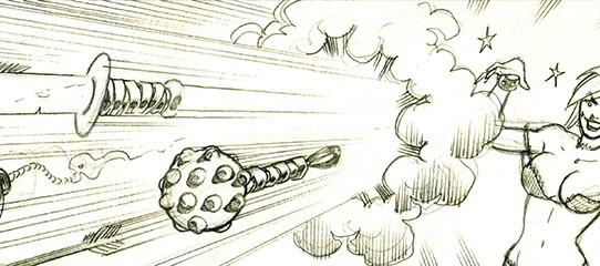 Fernando Ruiz is penciling art for Die Kitty Die! #2